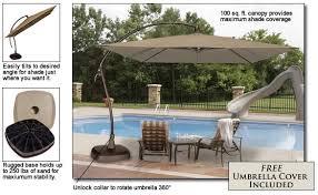 right poolside patio umbrella that