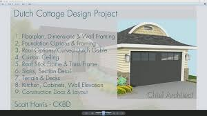creating the main floor plan dimensions openings and wall framing dutch cote design