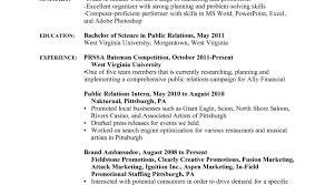 Brand Ambassador Resume Cover Letter 11 Brand Ambassador Resume