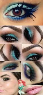 little mermaid ariel makeup tutorial how to