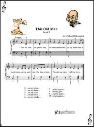 this old man piano sheet music pin by paula knee on jingles pinterest piano sheet piano music