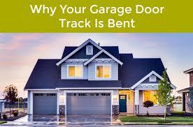 here at neighborhood garage door service of el paso tx we get calls on a regular basis from our customers because their garage door tracks are bent