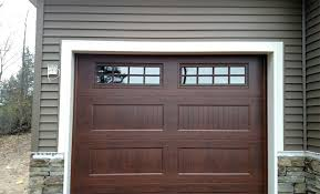 walnut garage doorsAmerican Door Works  Recessed Carriage Panel Doors