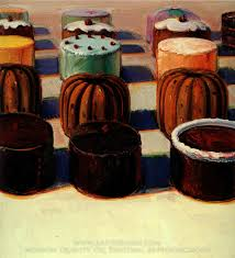 wayne thiebaud various cakes oil painting reion