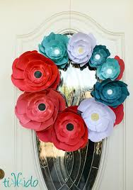 Make A Paper Poppy Flower Paper Poppy Wreath Tutorial For Memorial Day With Michaels