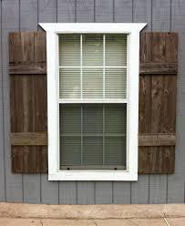Diy Exterior Window Shutters Diy Exterior Shutters Ideas Best 25 Diy Shutters Ideas On