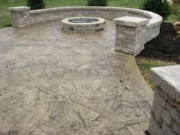 Decorative Concrete Patio Designs F87X On Most Creative Home