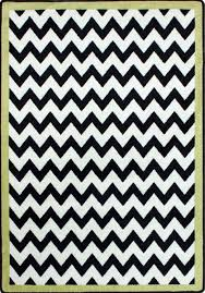 black and white chevron rug clipart
