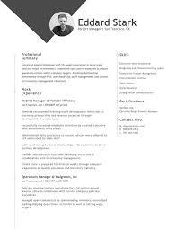 Academic Resume Samples Resume Examples Hloom Com