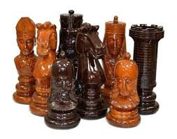 oversized chess pieces inch meval teak giant chess set com how to make oversized chess pieces oversized chess pieces