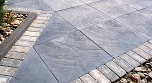 Patio Stones Diy Concrete Pavers Lowes Large D Intended Design
