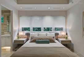 ... Breathtaking Design For Modern Bedroom Decorating Ideas : Casual  Decoration With Cream Sheet Platform Bed And ...