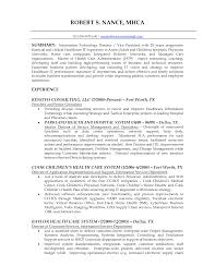 Resume Information Technology Resume Templates