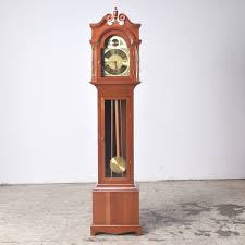Eugene Crawford Hand-Made Cherry Wood Grandfather Clock | EBTH