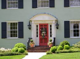 Exterior House Colors 2016 Home Grey Brick Painted Homes Makeover ...