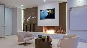 Small Picture Tv And Fireplace On Same Wall Fireplace Tv And Fireplace dactus