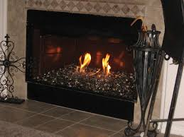 dark fireplace glass crystals fire pits ideas