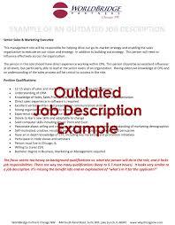 Microsoft Job Description Microsoft Word Outdated Job Description2 Worldbridge Partners
