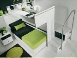Bunk bed on top desk on bottom