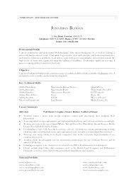 Sample Of Profile In Resume Private Profile Pattern Personal Profile