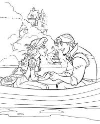 Small Picture Printable Tangled Coloring Pages Coloring Me
