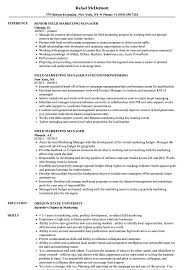 marketing manager resume field marketing manager resume samples velvet jobs
