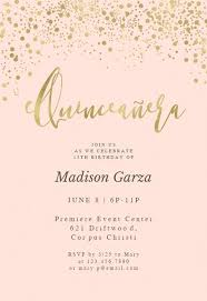 Quincenera Invitations Quinceañera Invitation Templates Free Greetings Island