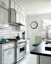 Kitchen Drop Ceiling Lighting Subway Tiles Kitchen Splashback Yellow Countertop Modern Drop