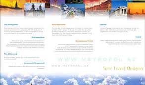 Brochure Of Travel Agency 51 Best Travel Brochures Examples 2017