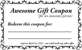 Make A Printable Coupon Make Your Own Coupon Template Davoodi Info Template