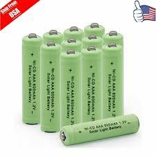 Where To Buy Solar Light Batteries 12 Aaa 3a Nicd 600mah 1 2v Rechargeable Battery For Garden Solar Light Green Usa