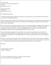 Cover Letter Template For Business Administration Copy 7 Formal