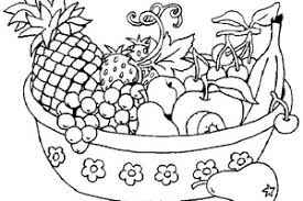 Small Picture Fruit Basket Images For Coloring is strawberry a fruit