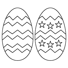 Small Picture Easter Eggs Coloring Pages for Kids and Adults