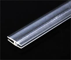 extruded acrylic sheet h profile extruded acrylic bar tap plastics