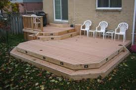 diy deck cost two level deck framing floating on dek blocks this is actually my