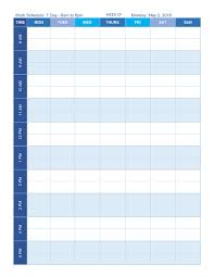 time chart template free work schedule templates for word and excel