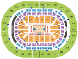 Chesapeake Arena Seating Chart With Rows Chesapeake Energy Arena Seating Chart Rows Seats And Club