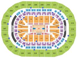 Seating Chart Chesapeake Energy Arena Chesapeake Energy Arena Seating Chart Rows Seats And Club