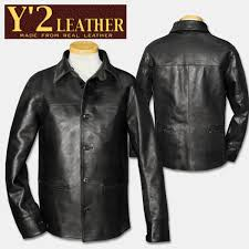 y 2 leather y two leather 30 s car coat black