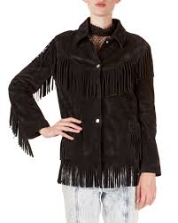 isabel marant abel suede fringed shirt jacket