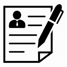 Application Employee File Form Personal Profile Resume Icon