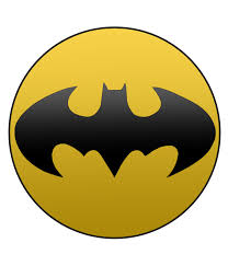 home pin back ons dc batman symbol pin back on