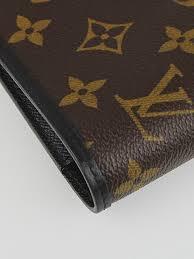 louis vuitton monogram macassar canvas desk agenda cover