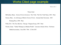 what is a works cited page brilliant ideas of research paper mla format works cited page also