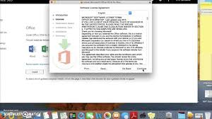 how to install microsoft office on mac how to install office 365 on a mac