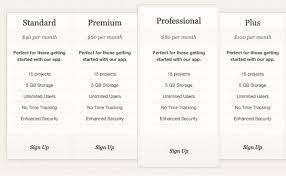 Price Chart Template Enchanting Pricing Chart Template Erkaljonathandedecker