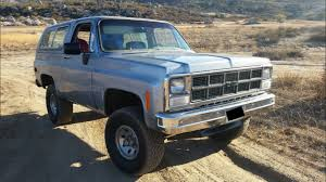 Curbside Classic Chevrolet Blazer Silverado The