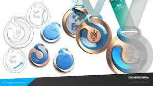 Fina World Championship 2017 Memory Medal On Behance