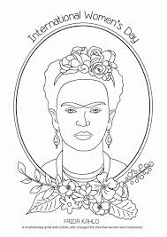 Coloring club — from the pond. Frida Kahlo Coloring Page Luxury 15 Free Printable International Women S Day Coloring Pages Kahlo Paintings International Women S Day Color Coloring Pages
